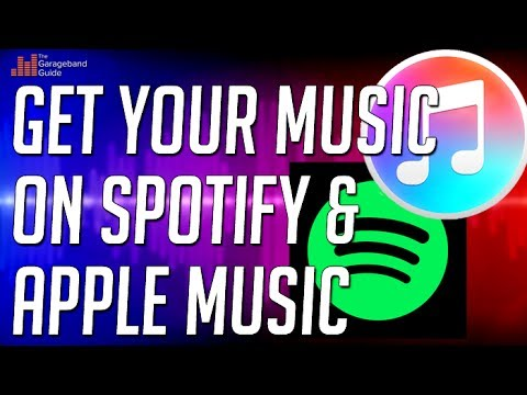 Get Your Music On Spotify & Apple Music