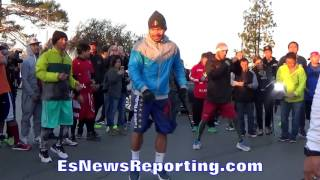 Amir Khan vs Manny Pacquiao video shows who has faster hands !!! - esnews boxing