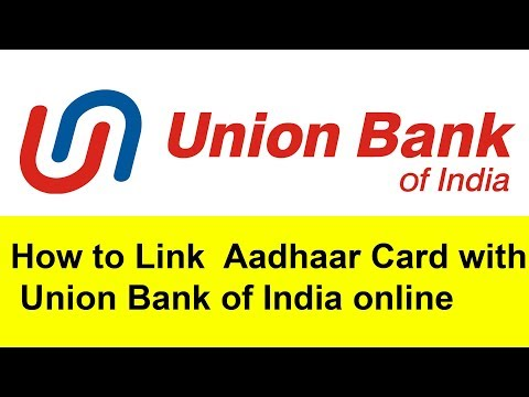 How to Link  Aadhaar Card with Union Bank of India online | Tamil Banking