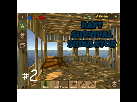 MY NEW BEDROOM! | Raft Survival Simulator #2