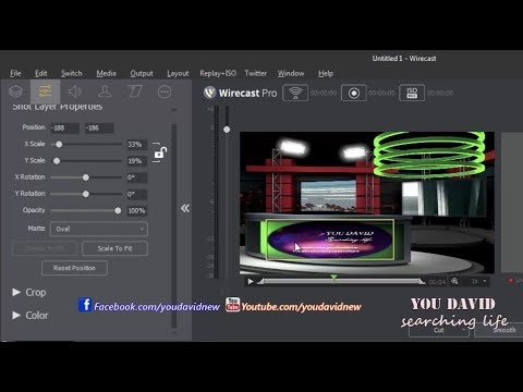 How to Wirecast Live Stream Lesson 3