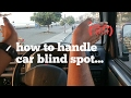 How to check (handle) car's blind spot|lesson 34|learn car driving in Hindi for beginners