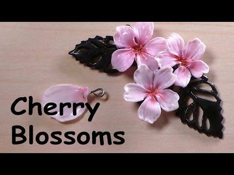 Cherry Blossom Charm - Polymer Clay Tutorial