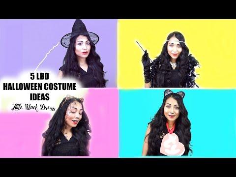 5 Little Black Dress Halloween Costume Ideas