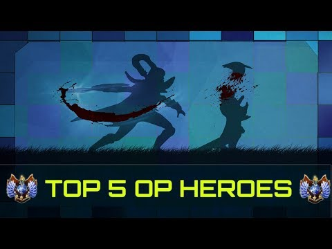 TOP 5 OP Mid Heroes - Patch 7.11 | Dota 2
