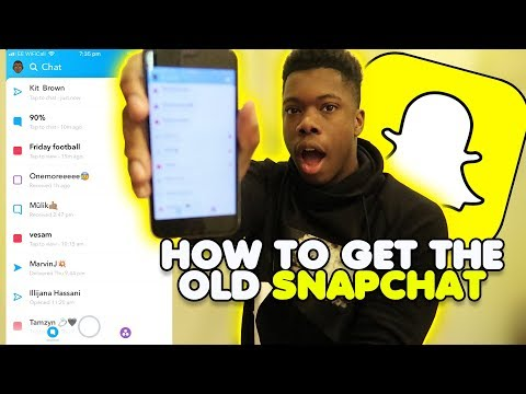 HOW TO GET YOUR OLD SNAPCHAT BACK?!?!