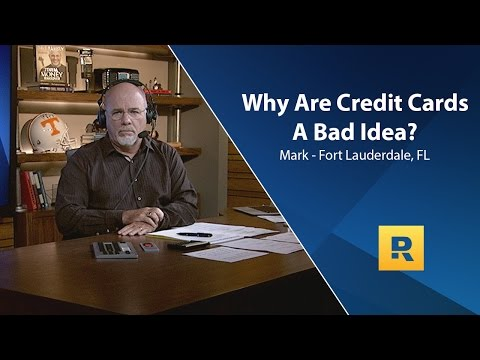 Why Is Having A Credit Card A Bad Idea?