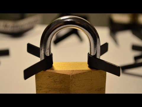 How to Open Locks with Padlock Shims 🔓