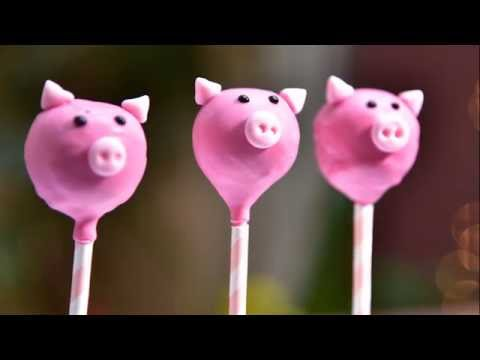 Pigs Cake Pops