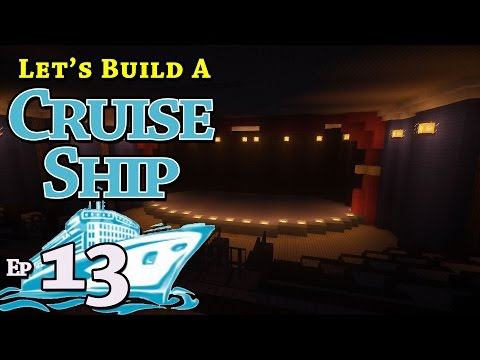 How To Build A Cruise Ship :: Minecraft :: E13 :: Z One N Only