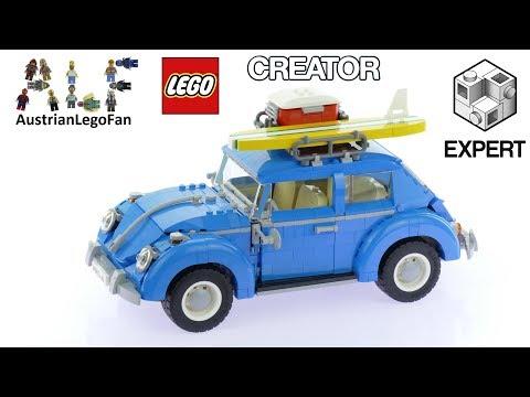 Lego Creator 10252 Volkswagen Beetle - Lego Speed Build Review