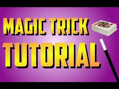 Magic Trick Tutorial - INSANE Sleight of Hand Card Magic!!!