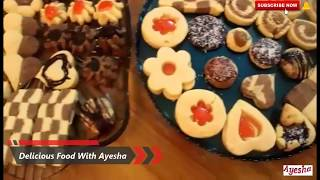 Cookies Recipe | Bakery Biscuits | Homemade Quick and Easy Recipe | top 10 Designs | Delicious Food