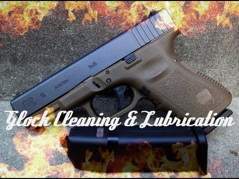 How To: Clean & Lubricate A Glock (HD)