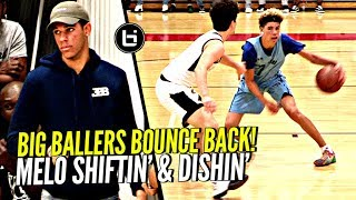 LaMelo Ball REFUSES TO LOSE! Shiftin Dudes & Dropping Dimes To Get Big Ballers That W!