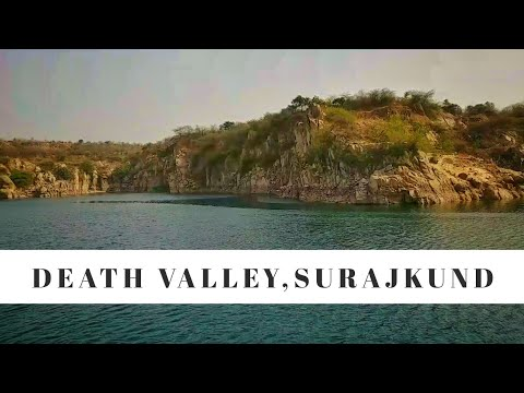 Death Valley Lake,Suraj Kund | Most amazing Place Near Delhi | Off-Road Riding, Amazing Lake.