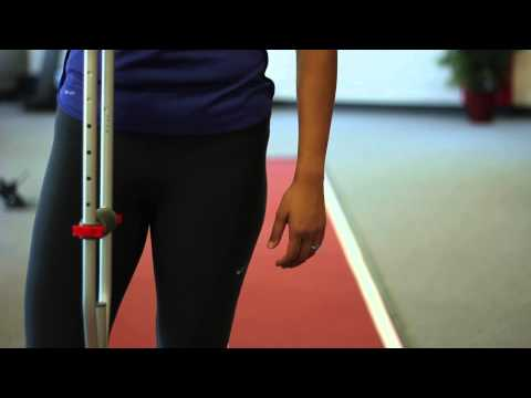 How to Help Kids Walk on Crutches : Physical Therapy Tips