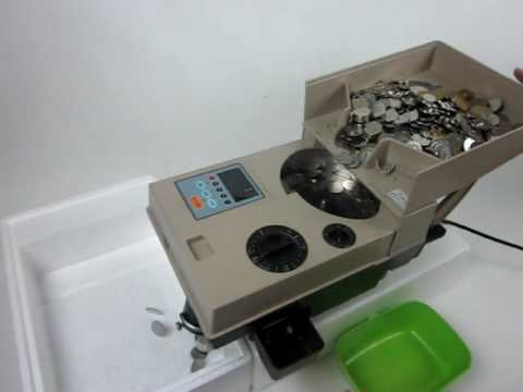 Easy operation money coin counter,portable coin counting machine,susie@sinocambrian.com