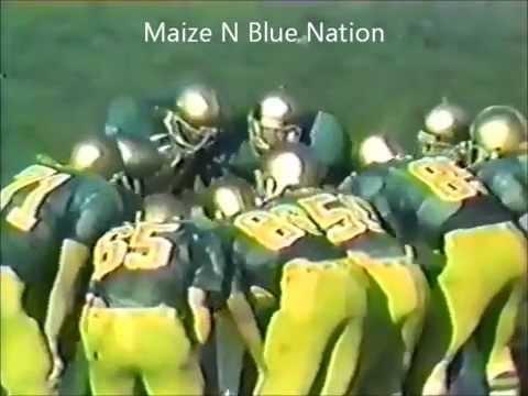 Notre Dame vs Michigan 1980 Highlights