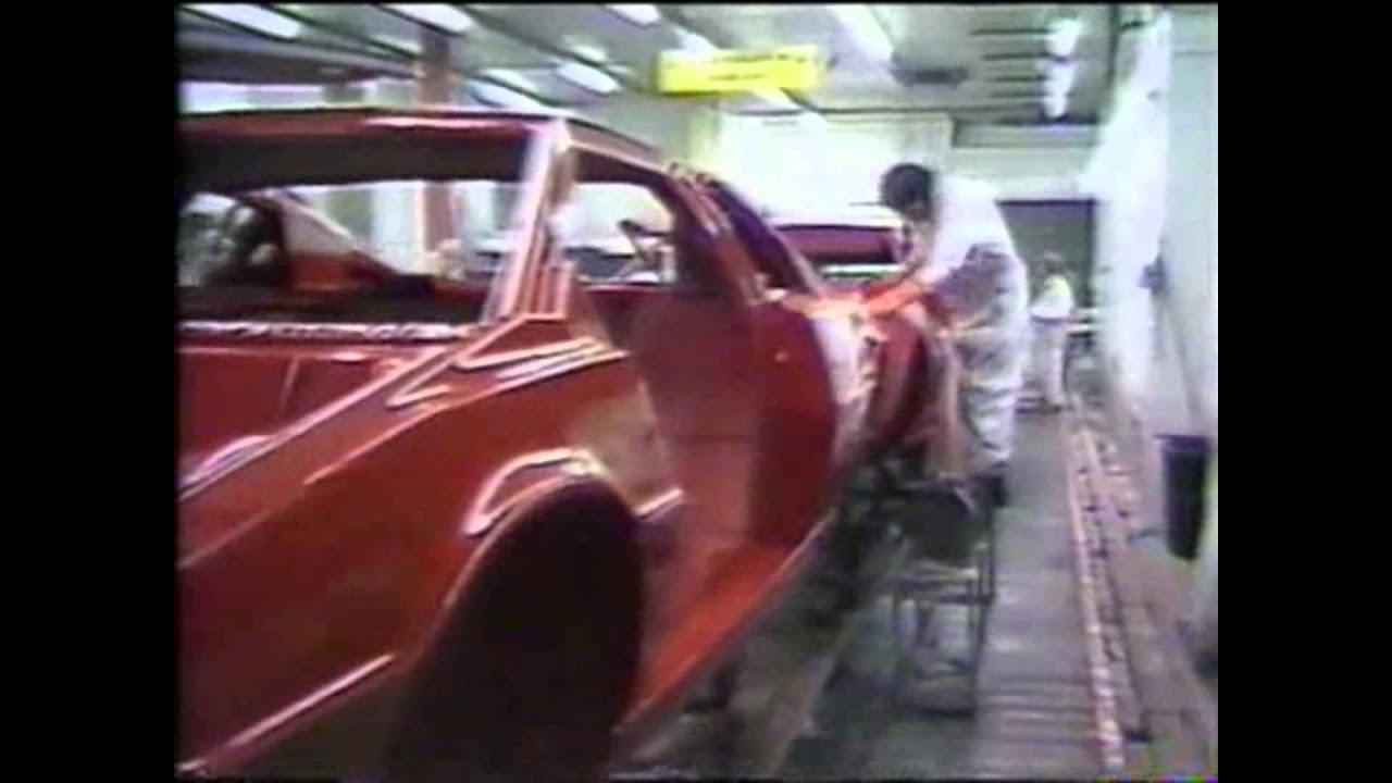 Lotus Factory tour 1984, mainly Esprit