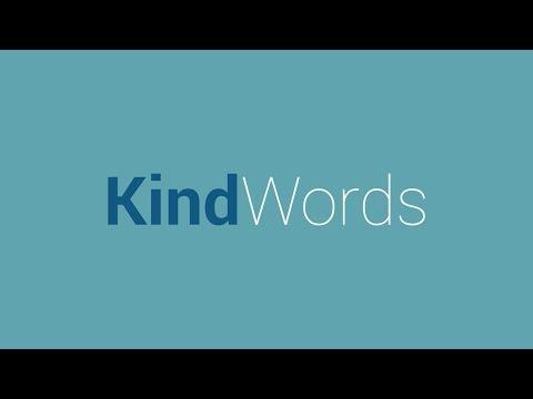 Kind Words: Don't criticize