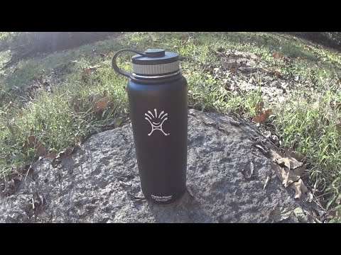 Hydroflask 40oz Stainless Steel Water Bottle Review