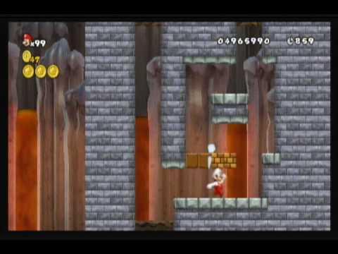 New Super Mario Bros. Wii custom level by OrangMario