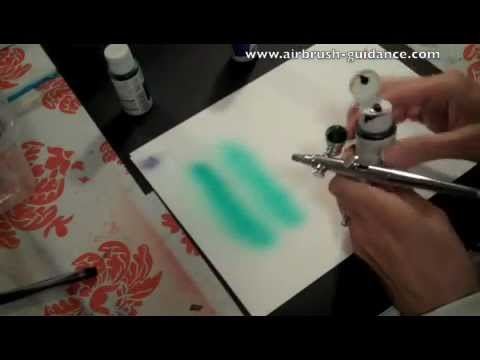 Changing Airbrush Colors