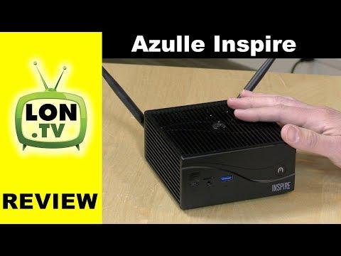 Azulle Inspire Mini PC Review - Fanless Silent i3 / i5 / i7 Barebones Desktop PC Windows / Linux