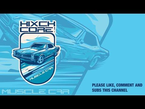 adobe illustrator tutorial : muscle car logo illustration
