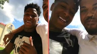 "NBA YoungBoy Chillin With ""NBA OG 3Three"" In Louisiana ""NBA 3Three"" Tells ""YB"" Seeing Him Down Hurt"