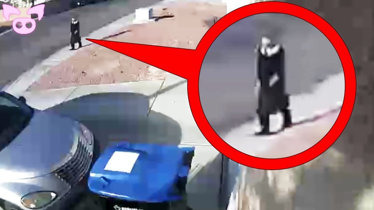 Scariest CCTV Footage Ever Captured