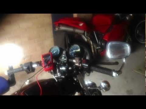 Cb550 f2 charging rate from coldish