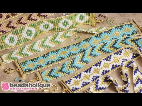 How to Make the Loom Bracelet Duo Kits by Beadaholique