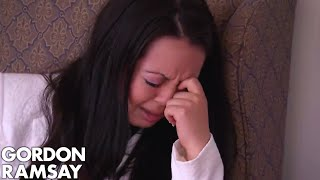 Stubborn Owner Bursts Into Tears When Confronted | Hotel Hell