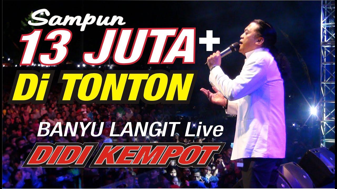 Didi Kempot - Banyu Langgit (Live)
