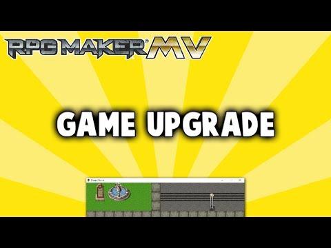 Game Upgrade Plugin - RPG Maker MV