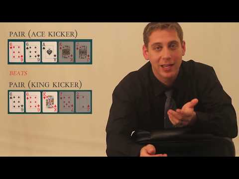 Poker Rules and Procedures - Introduction to Poker (Part 1 of 2) - Hand Rankings