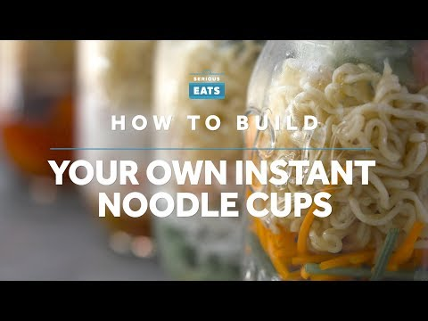 How to Make DIY Instant Noodle Cups