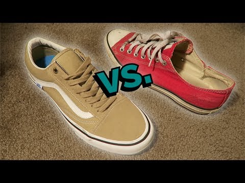 637bfd46fb5 VANS SKATE SHOES vs CONVERSE SKATE SHOES