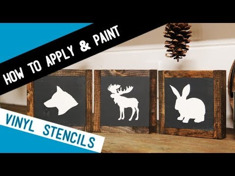 DIY Wood Sign Tutorial: How to Apply Vinyl and Painting Tips