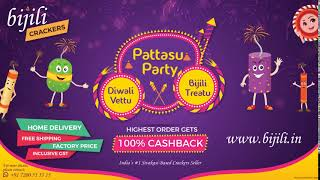 Buy Crackers with 100% cashback | Diwali Cracker | Diwali Special offer
