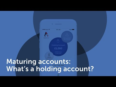 What's a holding account?