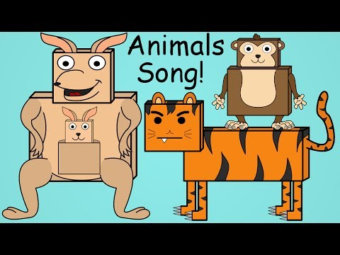 Animals Song | Fun Animal Song For Kids