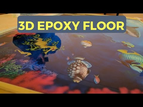 How to apply a 3d Epoxy Floor