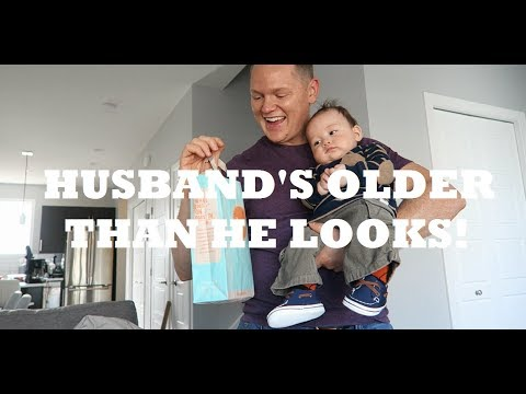 MY HUSBAND IS OLDER THAN HE LOOKS!