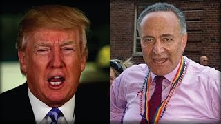 OH MY GOD! DONALD TRUMP JUST MADE CHUCK SCHUMER DO THE UNTHINKABLE! THIS IS HUGE!