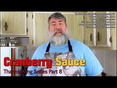 How To Make CRANBERRY SAUCE - Day 16,476 - Thanksgiving Series Part 8