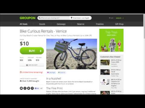 Groupon Explained/How to Use Groupon
