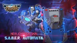 JOHNSON SABER AUTOMATA SKIN | Mobile Legends: Bang Bang